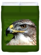 Head Portrait Of A Eagle Duvet Cover