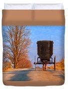 Headed Home Duvet Cover