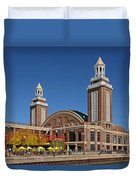 Headhouse Chicago Navy Pier Duvet Cover by Christine Till