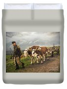 Heading Home Duvet Cover by Deborah Strategier
