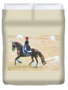 Heading Into The Ring Duvet Cover