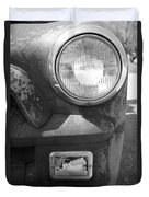 Headlight Of The Past Duvet Cover