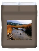Headwaters Of The River Of No Return Duvet Cover