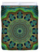 Healing Mandala 19 Duvet Cover by Bell And Todd