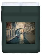 Hear The Sighs Duvet Cover by Laurie Search
