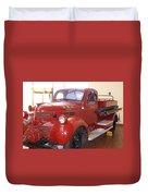Hearst Fire Truck Duvet Cover