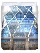 Hearst Tower - Manhattan - New York City Duvet Cover