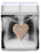 Heart Healthy Food Duvet Cover