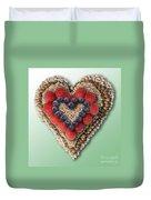 Heart-healthy Foods Duvet Cover