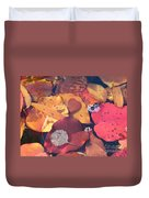 Heart Leaves Duvet Cover