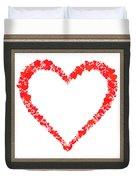Heart Of Hearts II... Duvet Cover