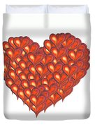 Heart Of Hearts Duvet Cover