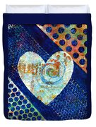 Heart Of Hearts Series - Elated Duvet Cover