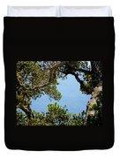 Heart Of Nepenthe - Big Sur Duvet Cover