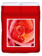 Heart Of The Rose #1 Duvet Cover