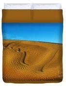 Heart In The Sand Dunes Duvet Cover