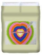 Heart Pipe Duvet Cover