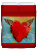 Heart Wings Duvet Cover