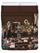 Heartbeat Dixieland Jazz Band Duvet Cover