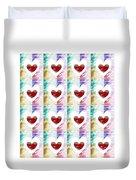 Heartful 2 Duvet Cover