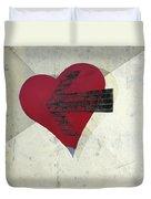 Hearts 7 Square Duvet Cover