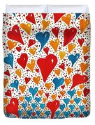 Hearts For You Duvet Cover