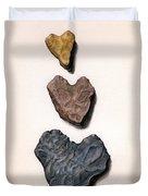 Hearts Rock Duvet Cover