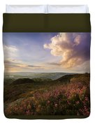 Heather Sunset Duvet Cover