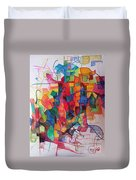 Heaven And Earth 1 Duvet Cover