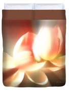 Heavenly Lilies Duvet Cover