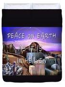 Heavenly Peace On Earth  Duvet Cover