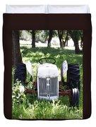 Heavenly Tractor Duvet Cover