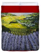 Heavenly Valley Duvet Cover