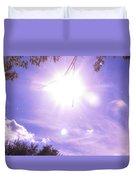 Heavens Blue  Duvet Cover