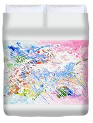 Heaven's Music Duvet Cover
