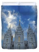 Heavenward Duvet Cover