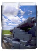 Heavy Artillery Duvet Cover