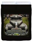 Heavy Metal 1941 Pontiac Duvet Cover