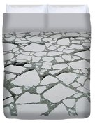 Heavy Pack Ice Terre Adelie Land Duvet Cover