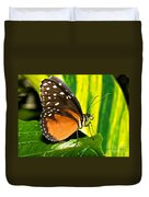 Hecale Longwing Butterfly Duvet Cover