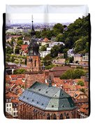 Heidelberg Church Of The Holy Spirit Duvet Cover