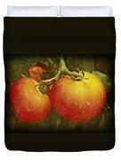 Heirloom Tomatoes On The Vine Duvet Cover
