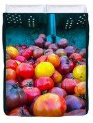 Heirloom Tomatoes V. 2.0 Duvet Cover