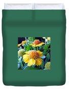 Helenium Flowers 1 Duvet Cover