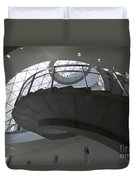 Helical Staircase Duvet Cover