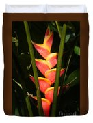 heliconia from Costa Rica 8 Duvet Cover