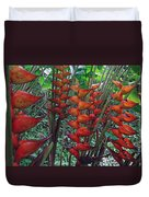 Heliconia Haven Duvet Cover