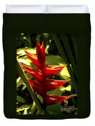 Heliconia II Duvet Cover