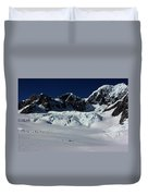 Helicopter New Zealand  Duvet Cover
