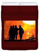 Hell Is For Hero's Duvet Cover